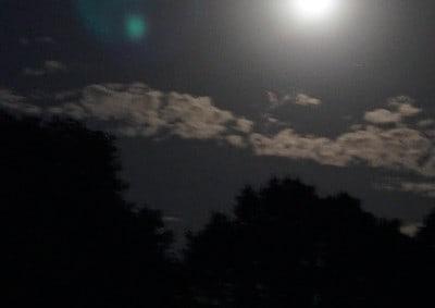 Orb bij volle maan
